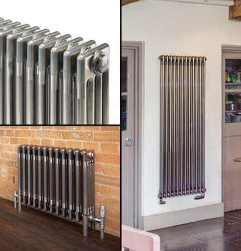 Bare Metal Classic Column Radiators (575mm to 1792mm high)
