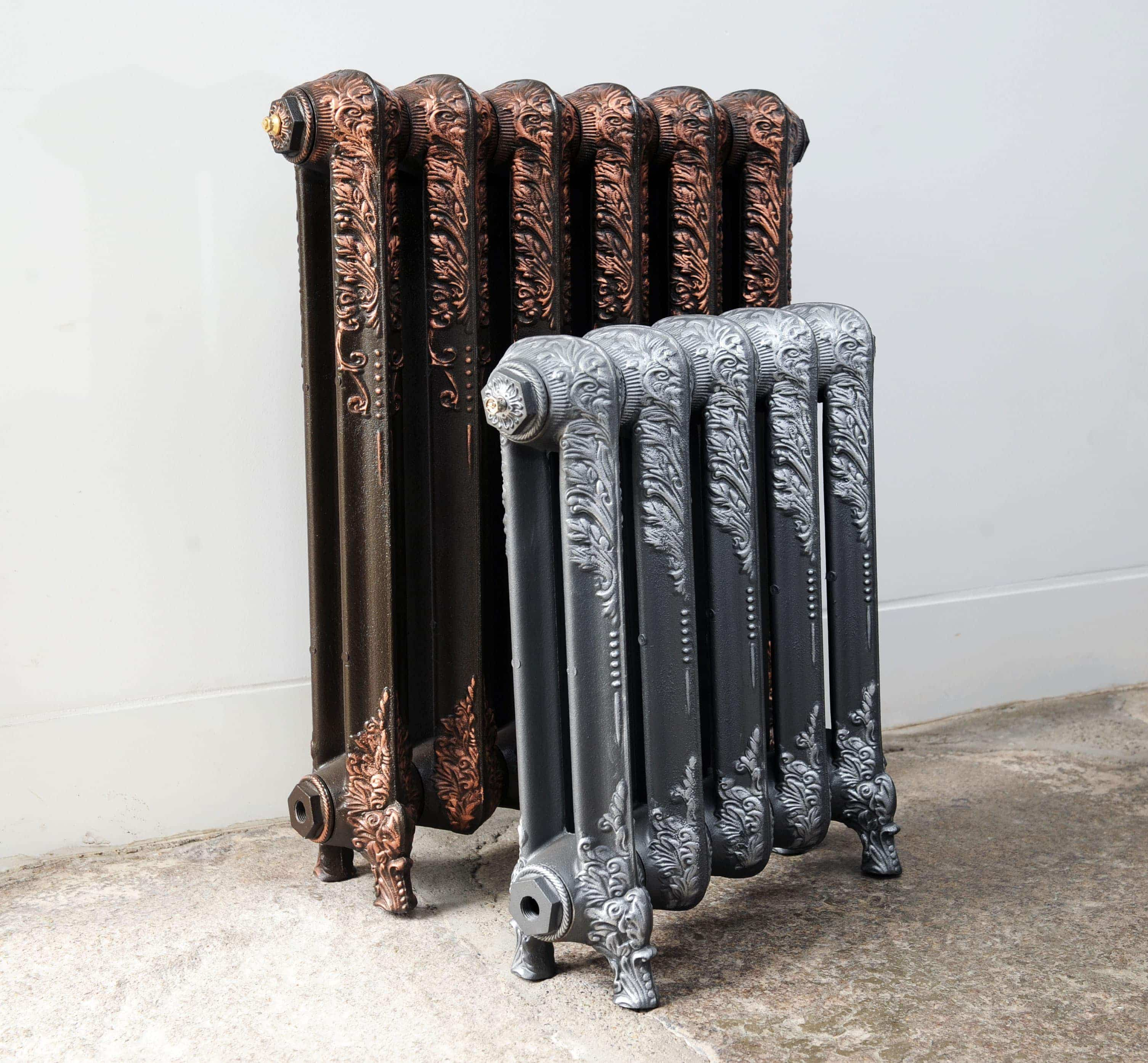 Downton Cast Iron Radiators (540mm to 740mm high)