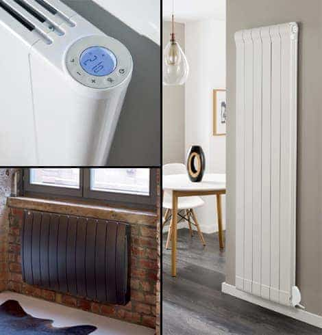 Electric aluminium radiators