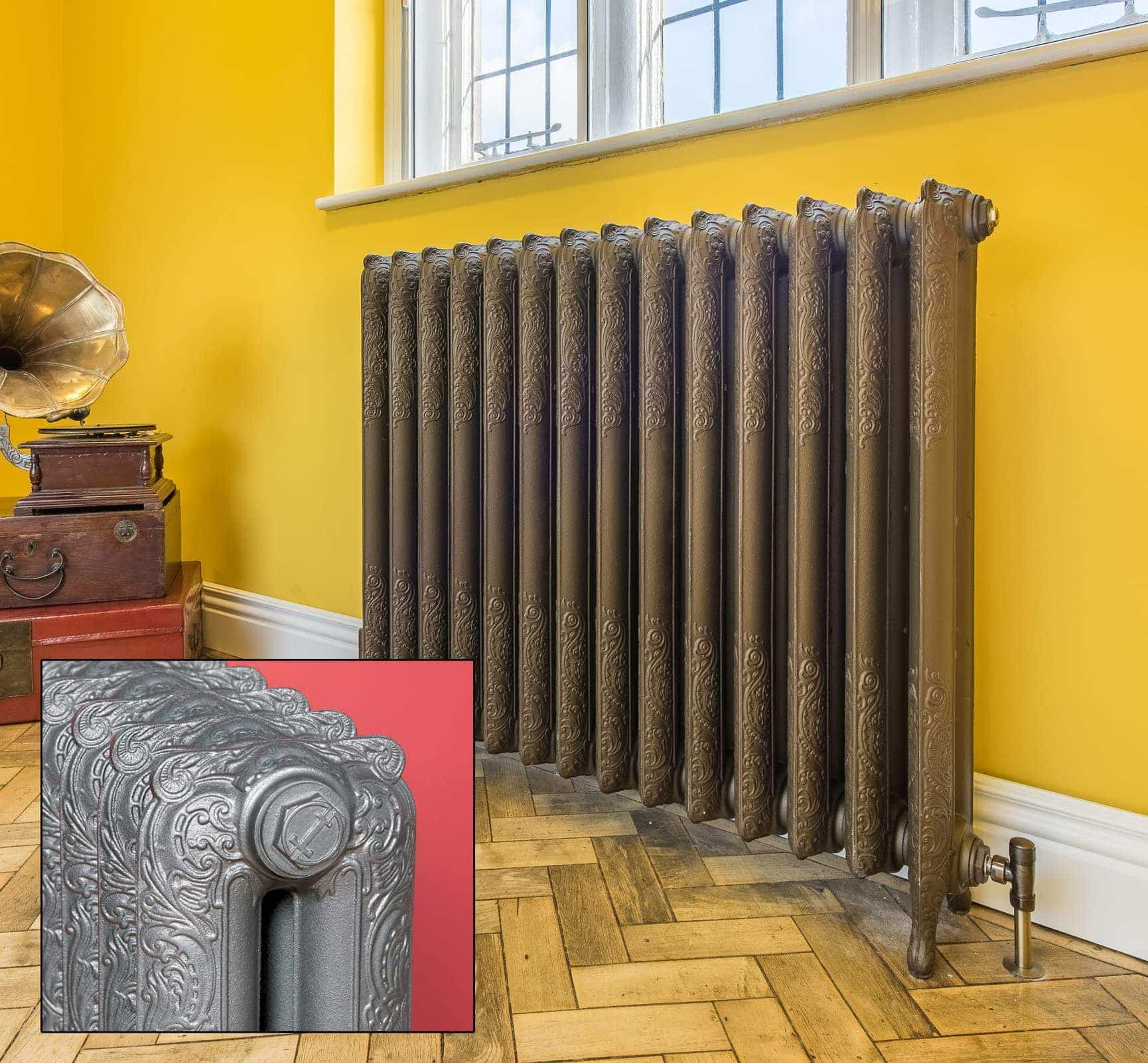 Liberty Cast Iron Radiators (510mm to 954mm high)