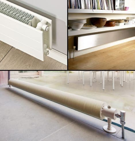 Long and low radiators