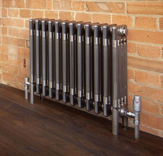 Bare Metal Classic radiator floor