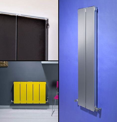 Blok aluminium radiator collage