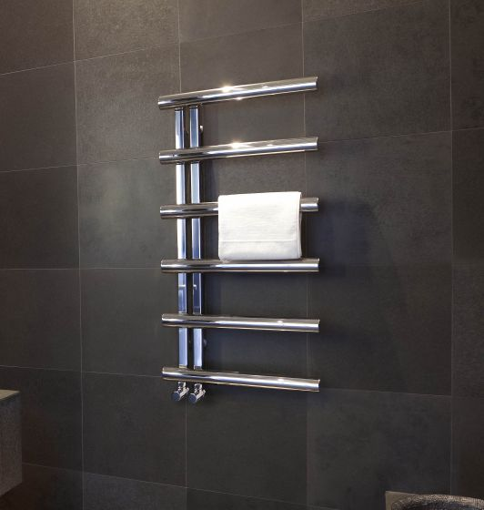 Chime stainless steel towel rail