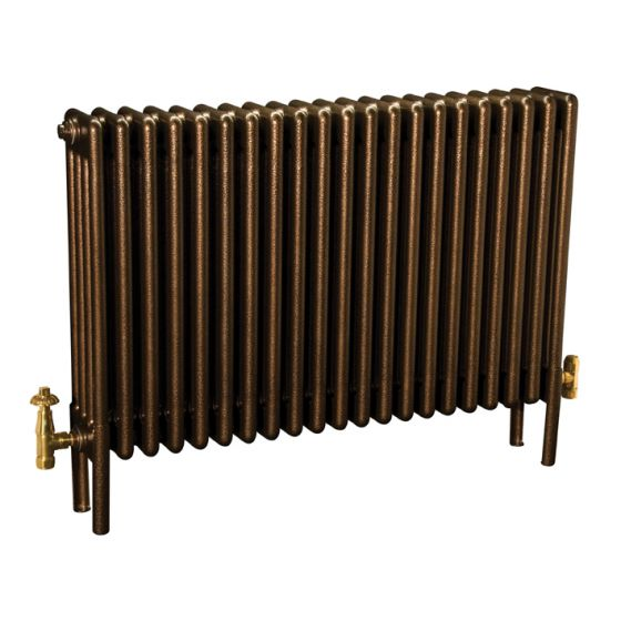 Colori-column-radiator-in-Historic-Gold