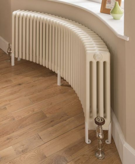 Core curved radiator