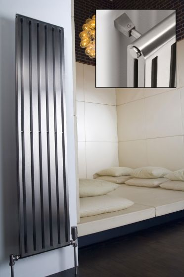 Cutler-stainless-steel-radiators-in-situ-with-inset