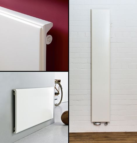 Danks Odin flat panel radiator