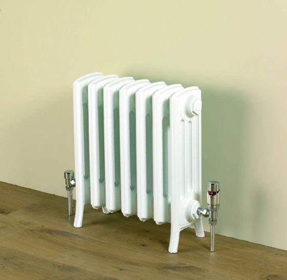 Etonian 475mm high radiator in Warm White RAL 9010