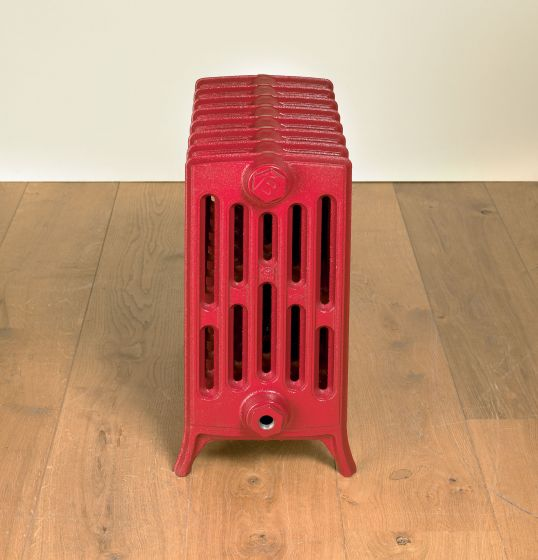 Etonian-6-cast-iron-radiators-Ruby-red-RAL-3003-4-neo-georgian