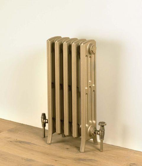 Etonian 660mm high radiator in Antique Gold
