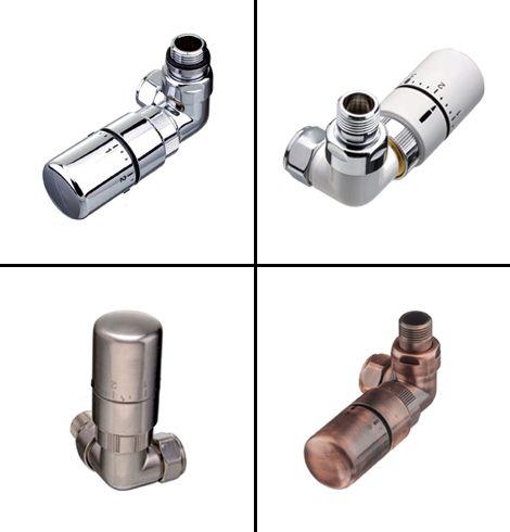 Flo corner TRVs radiator valves collage copy