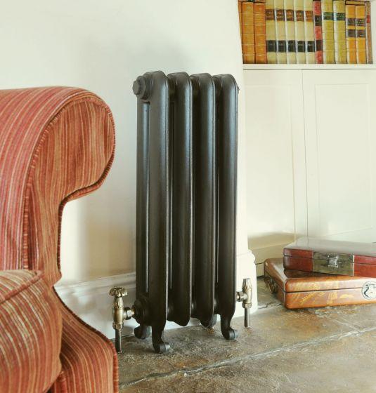 Gladstone-cast-iron-radiator-in-Farthing-bronze