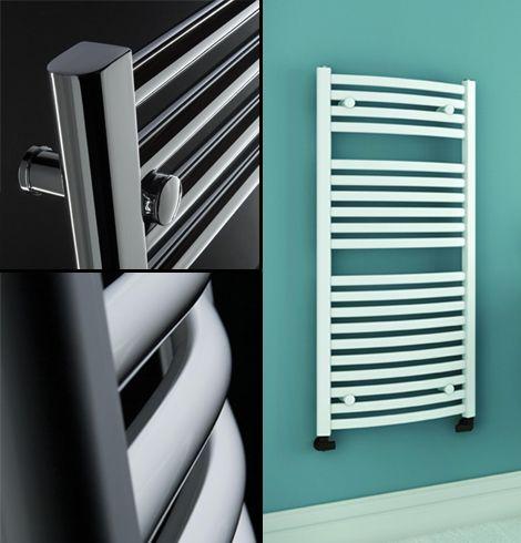 Igloo towel rails collage