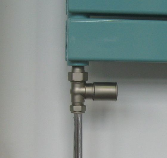 Minimus manual valve - straight in satin