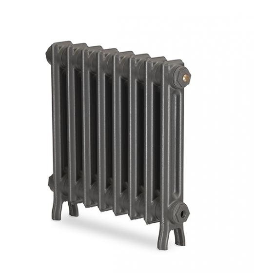 Wilberforce 2 column cast iron radiator - 490mm high