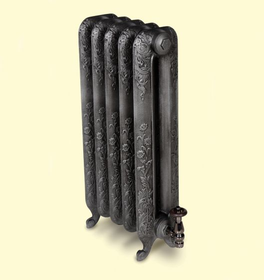 Nightingale cast iron radiator 740mm In Antiqued Old Pewter