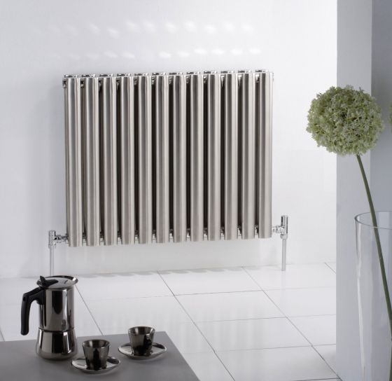 Oval Double stainless steel radiator