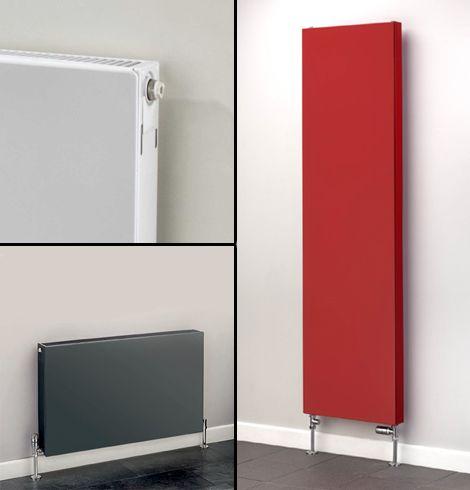 Pablo flat panel radiator collage