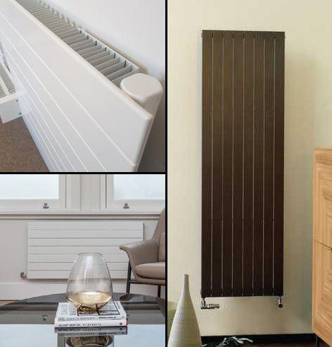 Stave flat radiator