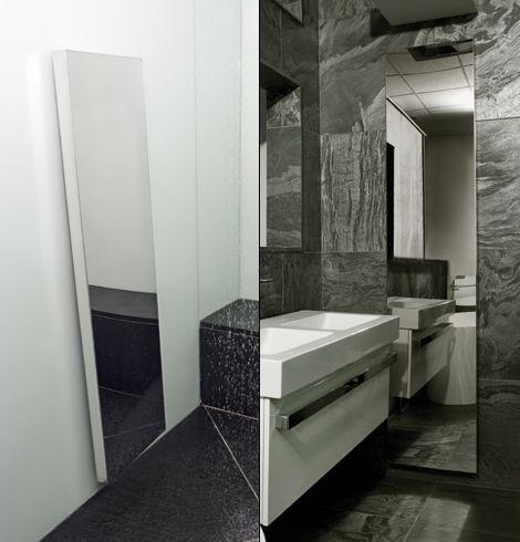 Supermirror radiator bathroom collage copy