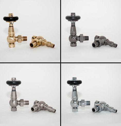 Prestige TRVs radiator valves