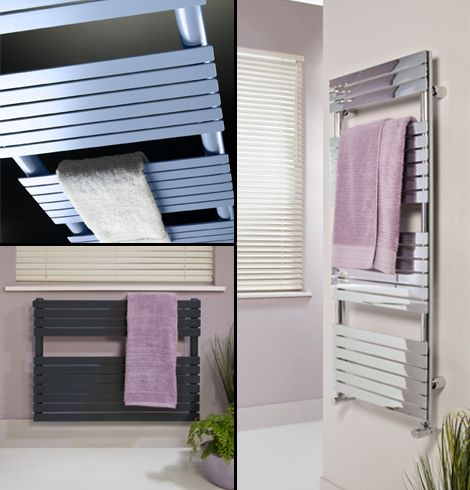 Tab towel rails collage