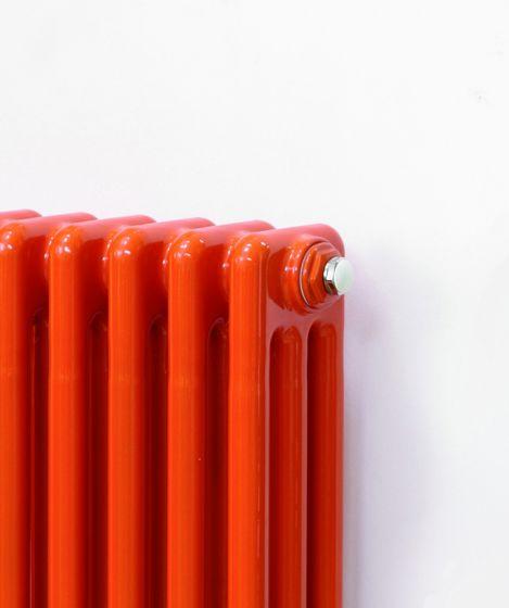 Colori steel radiator in orange