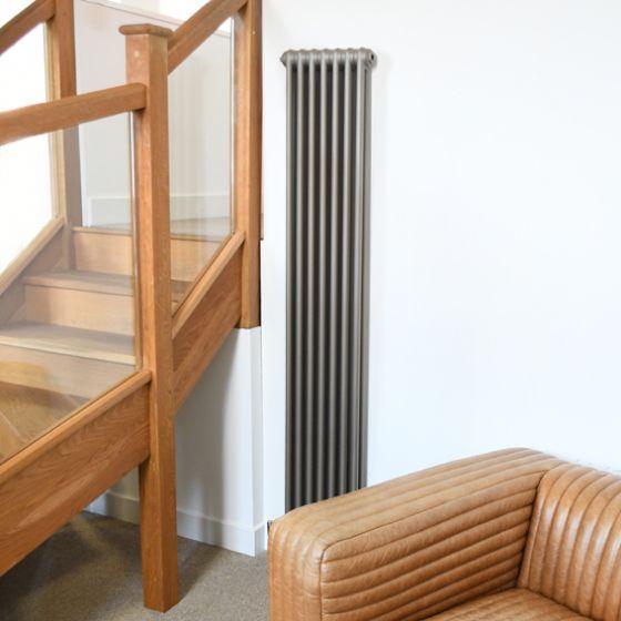 Core vertical radiator in Sunstone finish