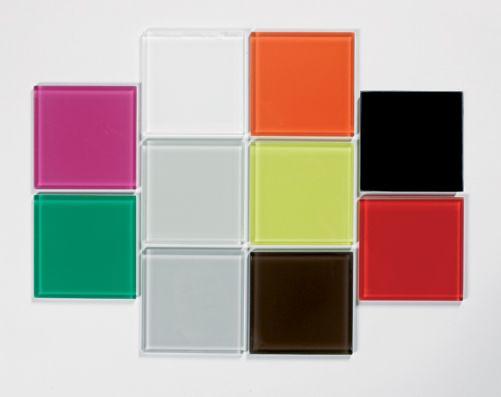 iRad Glass electric radiator samples