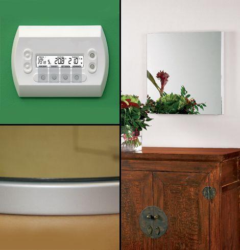 iRad Mirror electric radiator collage