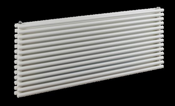 Tutti horizontal double tubed radiator