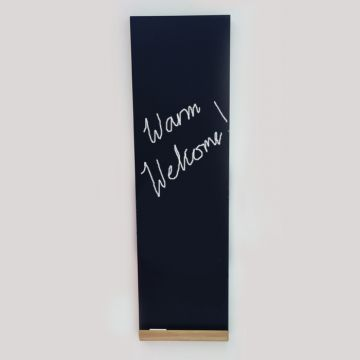 Blackboard designer radiator warm welcome copy