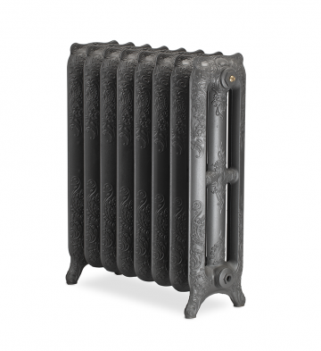 Bodleian ornate cast iron radiators