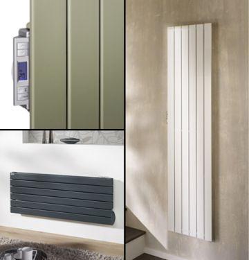Polar electric radiators collage