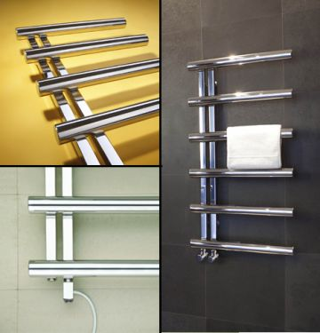 Chime towel rail collage