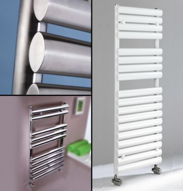 Oval towel rails collage
