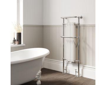 Eldwick tall traditional towel radiator