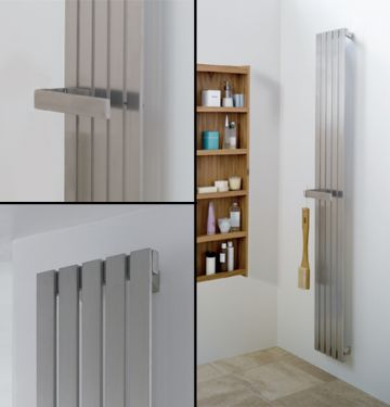 Zermatt towel radiator collage