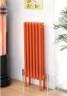 Colori radiator in Traffic Orange RAL 2009