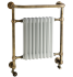 Special order traditional towel rail in antique brass
