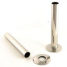 Sleeving kit to cover radiator pipe in polished nickel