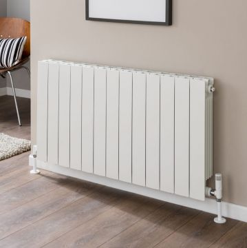 Alchemy aluminium radiator without end panels for web