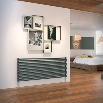 Cirque horizontal designer radiator