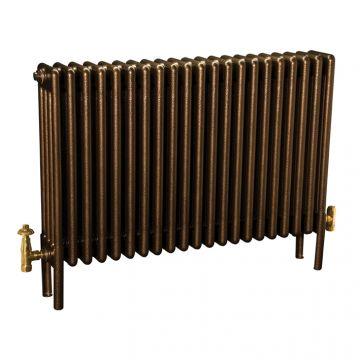 Colori-column-radiator-in-Historic-Gold