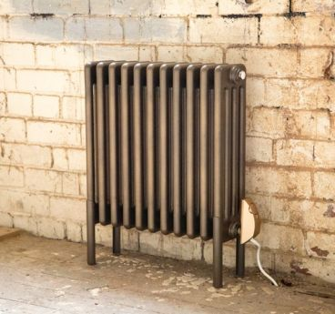 Vault electric radiator for web (exposed brick setting)