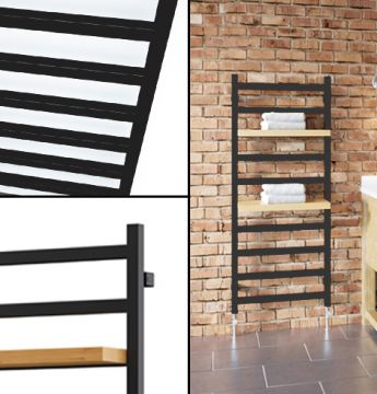 Estante square towel rail collage