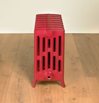 Etonian-6-cast-iron-radiators-Ruby-red-RAL-3003-4-neo-georgian