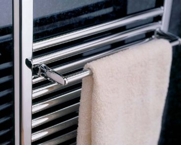 Generic towel rail for radiators in chrome