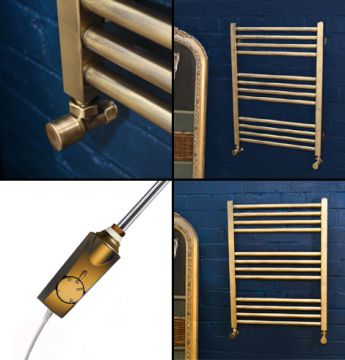 Midas gold towel rail collage copy